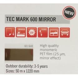 600 Gold Mirror plotter vinyl gloss / KEMICA