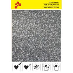 IDP459A Grey Pearl Glitter (Sheet) termal transfer film / iDigit