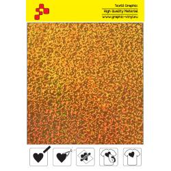 IDL792A Gold Glam (Sheet) termal transfer film / iDigit