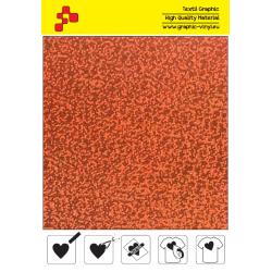 IDL734A Orange Glam (Arch) thermal transfer film / iDigit
