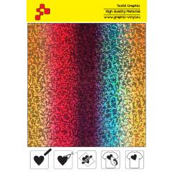 IDL777A Rainbow Glam (Sheet) thermal transfer film / iDigit