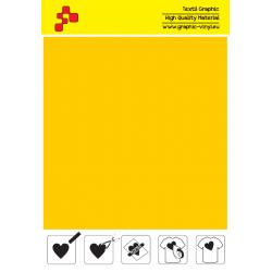 IDSF720A Medium Yellow (Sheet) Speed flex thermal transfer film / iDigit