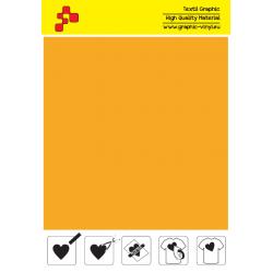 IDSF722A Pumpkin Yellow (Sheet) Speed flex thermal transfer film / iDigit