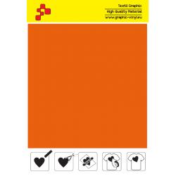 IDSF734A Orange (Sheet) Speed flex termal transfer film / iDigit