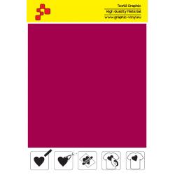 IDSF739A Velvet Red (Sheet) Speed flex thermal transfer film / iDigit