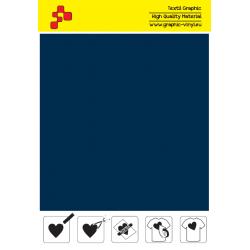 IDSF748A Navy Blue (Sheet) Speed flex thermal transfer film / iDigit