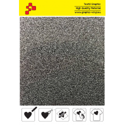 IDP435A Glitter Silver (Sheet) thermal transfer film / iDigit