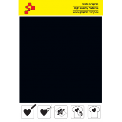 F710A Black (Sheet) Turbo flex termal transfer film / B-flex