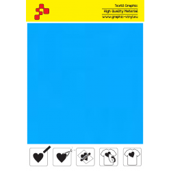 IDP403A Light Blue (Sheet) termal transfer film / iDigit