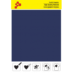 405A Navy Blue (Sheet) termal transfer film / POLI-FLEX PREMIUM
