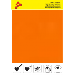 415A Orange (Sheet) termal transfer film / POLI-FLEX PREMIUM