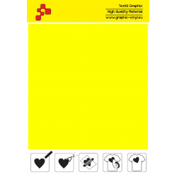 419A Lemon Yellow (Sheet) termal transfer film / POLI-FLEX PREMIUM