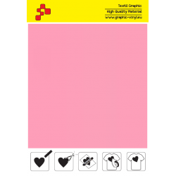 IDP461A Baby Pink (Sheet) termal transfer film / iDigit