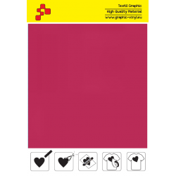IDP472A Cardinal Red (Sheet) termal transfer film / iDigit