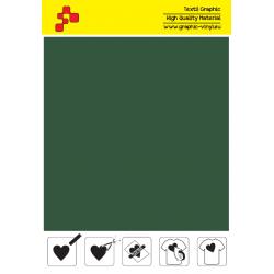407A Forest Green (Sheet) termal transfer film / POLI-FLEX PREMIUM