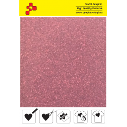 IDP456A Pearl Red (Sheet) termal transfer film / iDigit