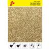 425A Light Gold Pearl Glitter (Sheet) termal transfer film / POLI-FLEX