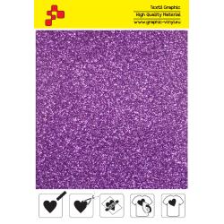 428A Lavender Pearl Glitter (Arch) termal transfer film / Poli-flex