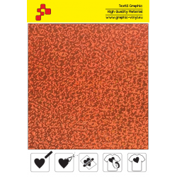 BF L734A Orange Glam (Arch) thermal transfer film / B-flex