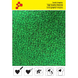 BF L750A Green Glam (Sheet) termal transfer film / B-FLEX