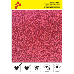BF L736A Pink Glam (Sheet) thermal transfer film / B-flex