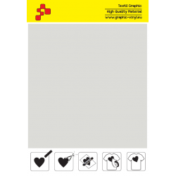 F712A Light Grey (Sheet) Turbo flex termal transfer film / B-flex