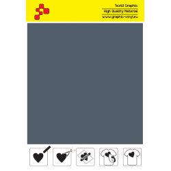F714A Grey (Sheet) Turbo flex termal transfer film / B-flex