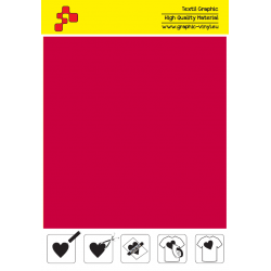 F730A Red (Sheet) Turbo flex termal transfer film / B-flex