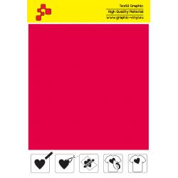 IDSF732A Flame Red (Sheet) Speed flex termal transfer film / iDigit