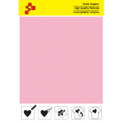 F736A Pink (Sheet) Turbo flex termal transfer film / B-flex