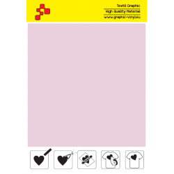 F737A Blush Pink (Sheet) Turbo flex termal transfer film / B-flex