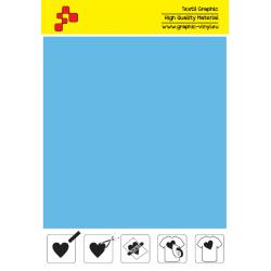 IDSF746A Sky Blue (Sheet) Speed flex thermal transfer film / iDigit