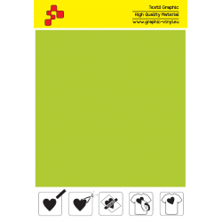 IDSF752A Apple Green (Sheet) Speed flex termal transfer film / iDigit