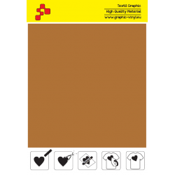 IDSF763A Cappuccino (Sheet) Speed flex termal transfer film / iDigit