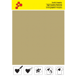 F792A Gold (Sheet) Turbo flex termal transfer film / B-flex