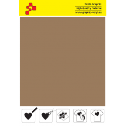 F793A Bronze (Sheet) Turbo flex termal transfer film / B-flex