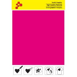 IDSFFLUO40A Neon Pink (Sheet) Speed flex thermal transfer film / iDigit