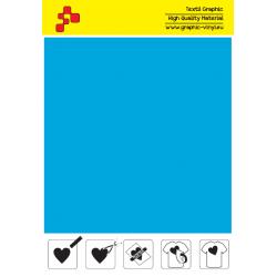 IDSFFLUO46A Neon Blue (Sheet) Speed flex thermal transfer film / iDigit