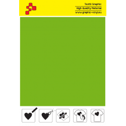 SFFLUO50A Neon Green (Sheet) Speed flex thermal transfer film / iDigit
