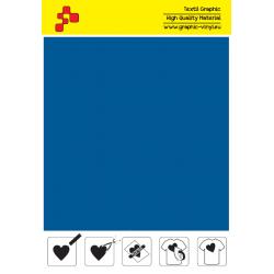 IDT740A Kráľovská modrá Fatty (Arch) nažehľovací fólia / iDigit