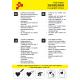 IDG710A Black Glitter (Sheet) thermal transfer film / iDigit