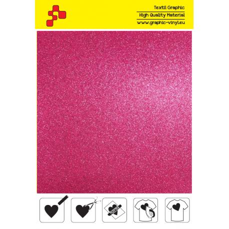 IDG736A Pink Glitter (Sheet) thermal transfer film / iDigit