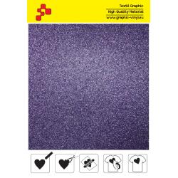 IDG770A Purple Glitter (Sheet) thermal transfer film / iDigit