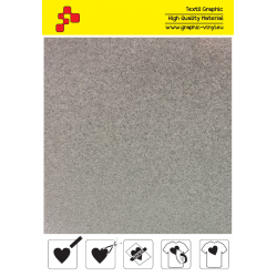 441A Glitter White (Sheet) thermal transfer film / Poli-flex