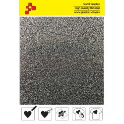 435A Glitter Silver (Sheet) termal transfer film / POLI-FLEX PREMIUM