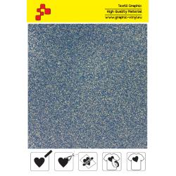 IDP436A Glitter Blue (Sheet) thermal transfer film / iDigit