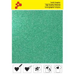 IDP437A Glitter Green (Sheet) thermal transfer film / iDigit