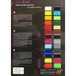 S000 Sampler A4 Flock VelCut Evo Premium / SEF Textile