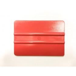 Hard plastic spatula red / iDigit