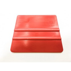 Hard plastic trapezoidal spatula red / iDigit